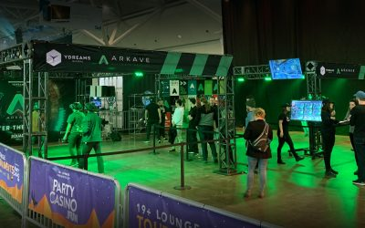 YDX brings Arkave VR to EGLX esports event, sponsored by PartyCasino.Fun